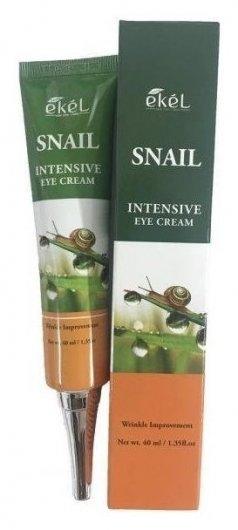 Крем для кожи вокруг глаз с муцином улитки Eye Cream Snail  Ekel