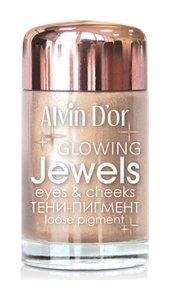 Тени - Пигмент для век Jewels Aes-17  Alvin D'or