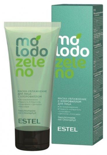 Маска-увлажнение для лица с хлорофиллом Molodo Zeleno  Estel Professional