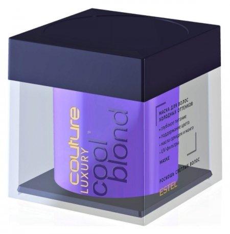 Маска для волос холодных оттенков Haute Couture Luxure Cool Blond  Estel Professional
