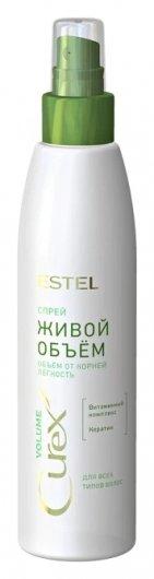 Спрей для всех типов волос Живой объём Curex Volume  Estel Professional