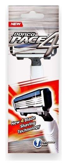 Станок для бритья одноразовый с 4 лезвиями Fra100  Dorco