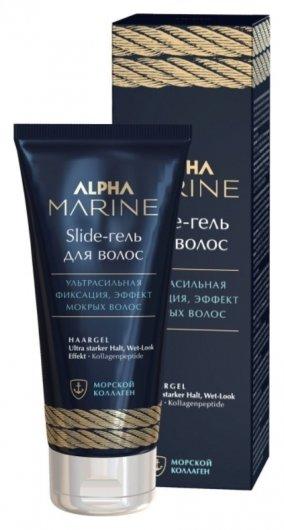 Гель для волос ультра сильная фиксация Slide Alpha Marine  Estel Professional