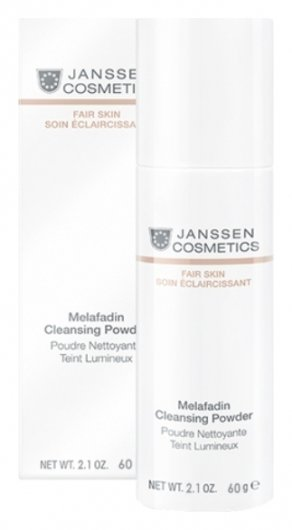 Пудра осветляющая очищающая Melafadin Cleansing Powder  Janssen Cosmetics