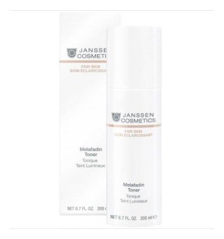 Тоник для лица и шеи осветляющий Melafadin Toner  Janssen Cosmetics