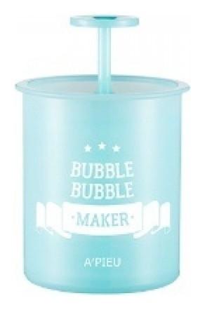 Стакан - помпа для создания пышной пены Bubble Bubble Maker Mint A'Pieu