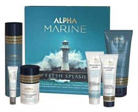 Набор для мужчин Fresh Splash Alpha Marine  Estel Professional