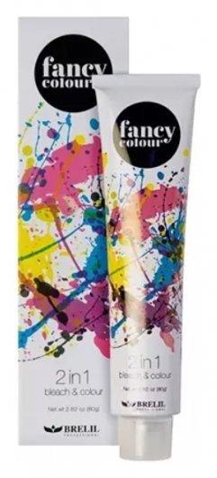Обесцвечивающее средство и крем краска 2в1 Fancy Colour  Brelil Professional