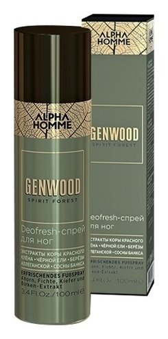 Спрей для ног Deofresh Genwood Estel Professional Alpha Homme Genwood