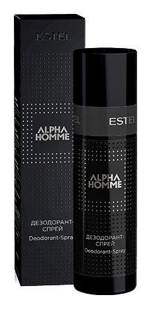 Дезодорант-спрей для тела Alpha Homme  Estel Professional