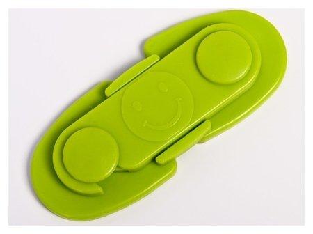 Блокиратор для дверей шкафов, цвет зелёный  Крошка Я