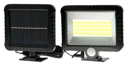 Прожектор светодиодный на выносной солнечной батарее 15 Вт, 100 Led, 6500к  NNB