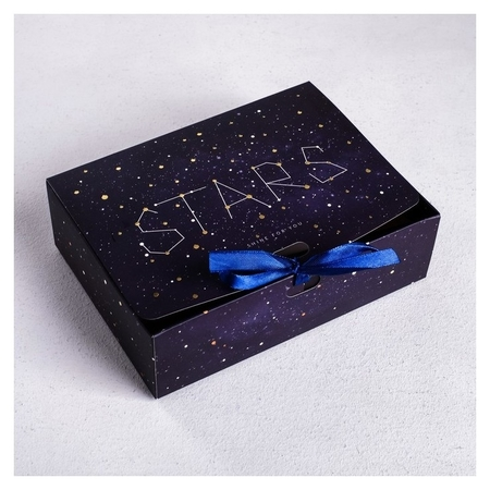 Коробка подарочная Stars, 16,5 х12,5 х5 см Дарите счастье