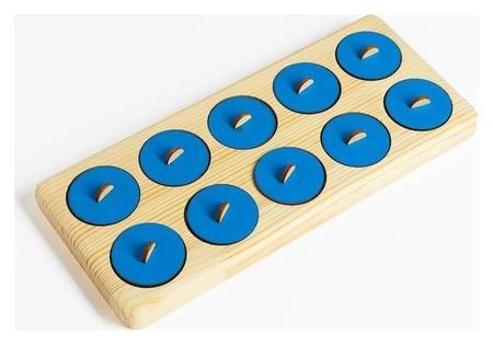 Тактильный планшет монтессори Smile Decor