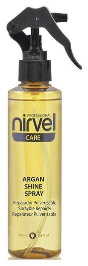"""Спрей-блеск с маслом арганы """"Argan shine spray""""  Nirvel"""