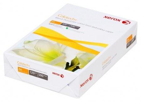 Бумага для цв.лазер.печ. Xerox Colotech Plus (А4,120г,170%cie) пачка500л.  Xerox