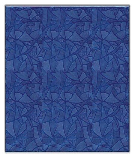 Скатерть ПВХ 120*180см, синяя  NNB