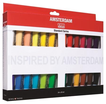 Краски акрил Amsterdam 24 цвх20мл 17820424  Royal Talens