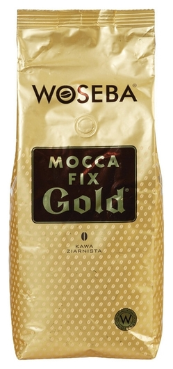 Кофе Woseba Mocca Fix Gold в зернах, 1 кг  Woseba