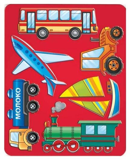 Трафарет виды транспорта луч, 10С 528-08  Луч