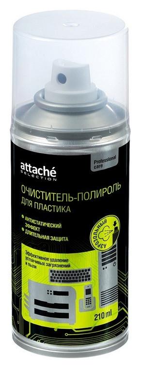 Очиститель пенный для пласт и оргтехн., антистат, Attache Selection, малый  Attache