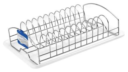 Сушилка для посуды C поддоном нерж.ст. (52.101) Мультидом