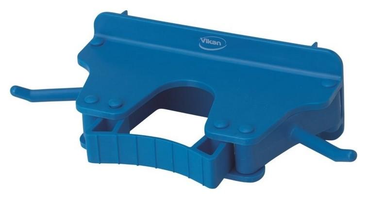 Держатель настенный Vikan для 1-3 предметов 160мм синее 10173  Vikan