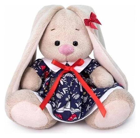 Мягкая игрушка «Зайка Ми в платье с мухоморами», 15 см  Зайка Ми