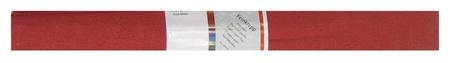 Бумага для творчества креповая Werola, 50см*250см 32г/м рубиновая, 12061-13  Werola