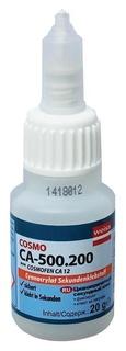 Клей цианоакрилатный секундный 50гр Cosmo Ca-500.200 (Cosmofen CA 12) Fl104 Cosmofen