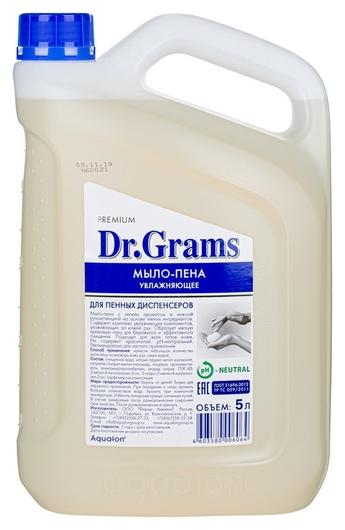 Мыло жидкое пенное Dr.grams увлажняющее, 5 л.  Dr.Grams