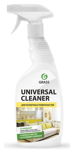 Универсальное чистящее средство Universal Cleaner 600мл поверхности ткани  Grass