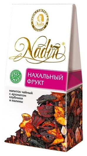 Чай фруктовый нахальный фрукт карт.уп. 50гр. 030448  Nadin