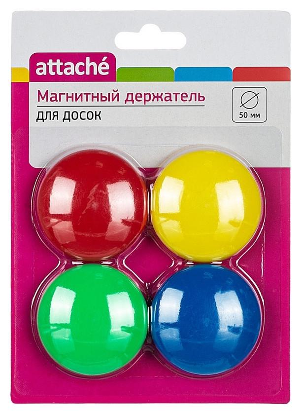 Магнитный держатель для досок Attache 50 мм, 4 шт/уп  Attache