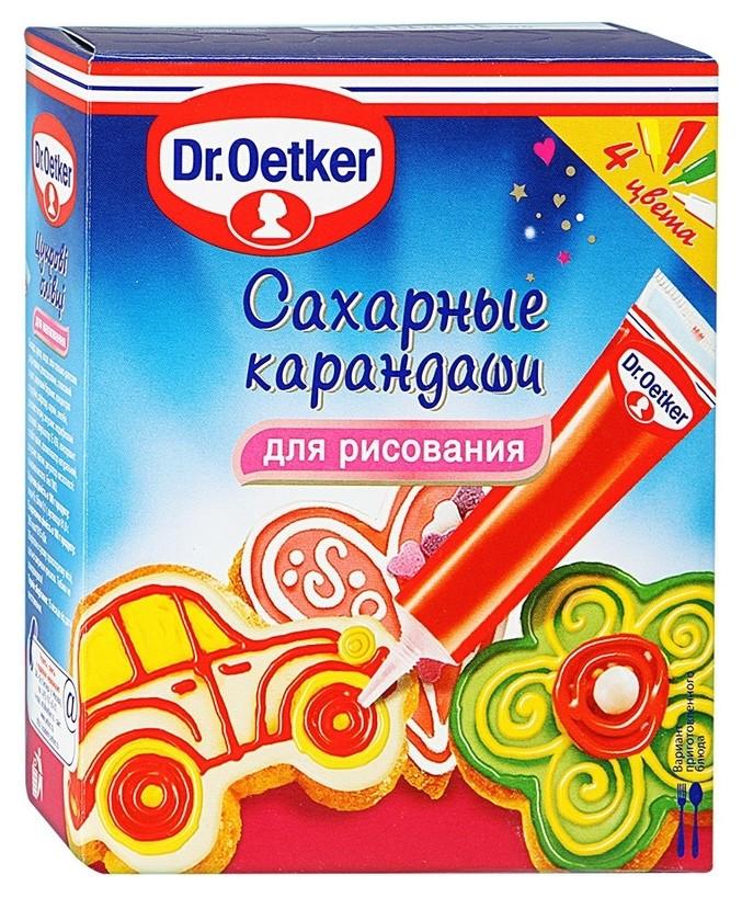 Приправа цвет.сах.карандаши Dr.oetker, 76г  Dr. Oetker