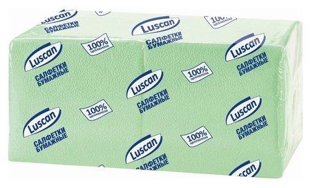 Салфетки бумажные Luscan Profi Pack 1сл24х24пастель салатовые 400 шт/уп  Luscan