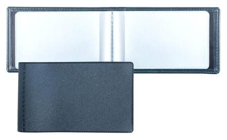 Визитница для 28 карт, горизонтальный, 60x100 мм, синий 2754-101  Dps Kanc