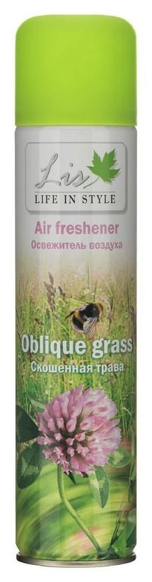 Освежитель воздуха LIS скошенная трава 300мл  Life in Style