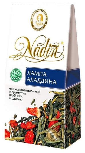 Чай лампа аладдина карт.уп. 50гр. 030332  Nadin