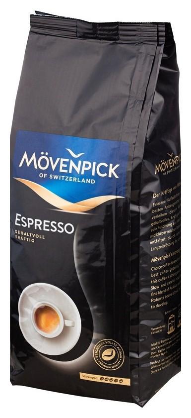 Кофе Movenpick Espresso в зернах, 1 кг  Movenpick