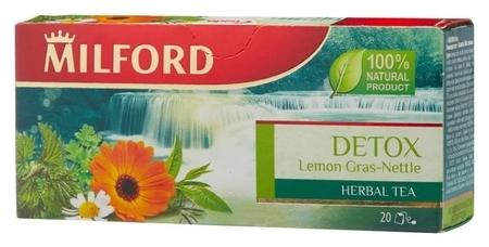 Чай Milford детокс травяной напиток, 20пак  Milford