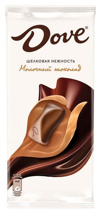 Шоколад Dove молочный шоколад, 90 г Dove