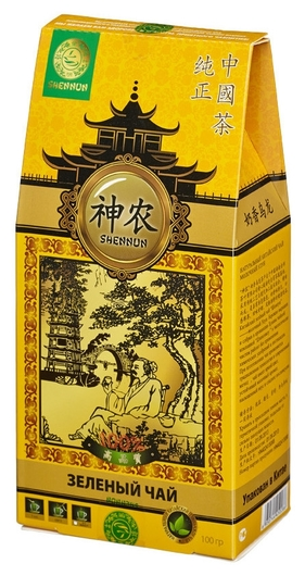 Чай Shennun молочный улун зеленый, листовой, 100 г. 16048  Shennun