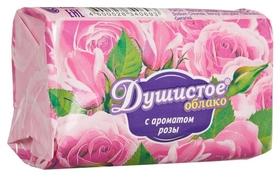 Мыло туалетное душистое облако с ароматом розы 90г  Душистое облако