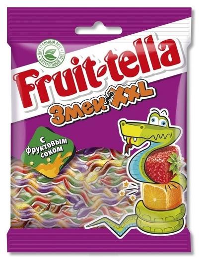 Мармелад Fruittella змеи XXL 30х70г РУ 8250136  Fruittella