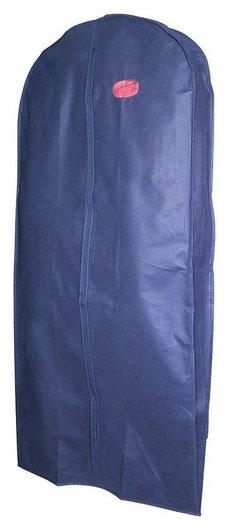 Чехол для одежды меховой и верхней воздухопроницаемый синий145х60х10см 5492  NNB