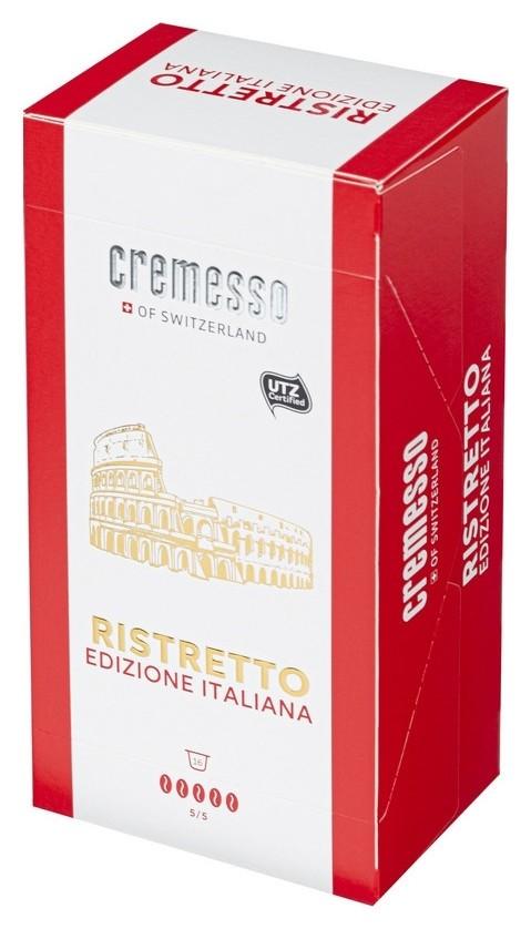 Кофе в капсулах Cremesso Ristretto Italiano 16 порций  Cremesso
