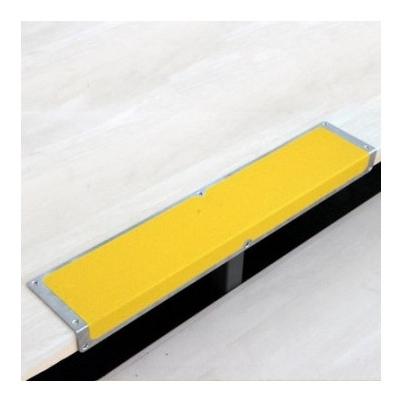 Профиль противоскользящий алюм пластина+угол 120х45х1000мм желтый (Akm1gf2)  Mehlhose