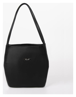 Сумка женская, отдел на молнии, наружный карман, цвет чёрный  Richet