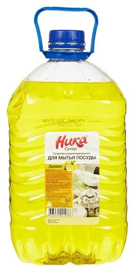 Профхим для посуды для ручного мытья ника/супер, 5кг(Пэт)  Ника
